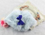 L'animale domestico molle del collare di Bowtie del panno morbido copre gli accessori di corallo del cane