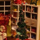 Brinquedo DIY de madeira para presente, decoração