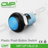 없이 LED 플라스틱 단추 스위치 (12mm)