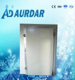 冷凍庫の冷蔵室か低温貯蔵のドア