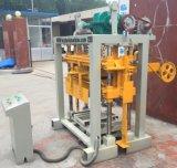 Máquina de bloqueio pequena manual China do tijolo da máquina/Paver do bloco de Qt40-2 Habiterra