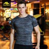 Camisas de la aptitud de los hombres de la camiseta del deporte de los hombres