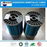 Câble ECCA de meilleur prix (fil d'aluminium revêtu de cuivre émaillé) Fournisseur