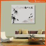 Бог награждает старательно гофрированную бумага Chinoiserie картины с бамбуками и вырезубами