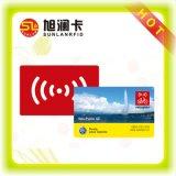 Cartão feito sob medida padrão do PVC RFID da impressão Offset de Cmyk com baixo custo