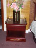 Migliore prezzo dell'insieme di camera da letto della mobilia della stanza della base Nightstand di legno moderno Nightstand di legno