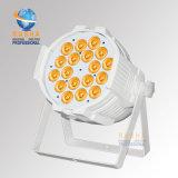 Hoher Brigthness 18*15W Panta 5in1 Rgbaw Stadium LED NENNWERT Projektor mit DMX512 Powercon Alumnium Stadiums-Licht