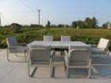 ألومنيوم طاولة مع كرسي تثبيت محادثة يثبت لأنّ حديقة خارجيّ