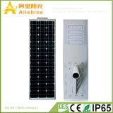 80W livram a energia nova cobrando toda em uma luz solar integrada para a rua