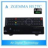 Новейшие комбинированные парных наземного и кабельного + Спутниковое ТВ приемник с H. 265 Zgemma H5.2tc