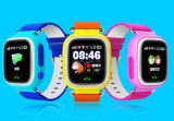 Q80 GPS GSM GPRS Smart Watch Intelligente Locator Tracker Anti-Lost Télécommande Moniteur intelligent Montre-bracelet Le meilleur cadeau pour enfants Enfants Rose