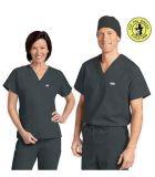 Le service d'OEM médical frotte des modèles médicaux frottent l'uniforme pour l'infirmière