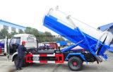 4X2 heißer Absaugung-LKW des Verkaufs-6 des Abwasser-M3 6 Tonnen Vakuum-LKW-