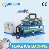 Koller 10 tonnes de grande capacité/ Dya Flake Machine à glace pour les poissons Factpry (KP100)