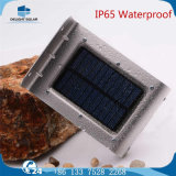 Ce RoHS Standard 4V Solar Panel Mention Sensor Solar Garden Wall LED Lamp