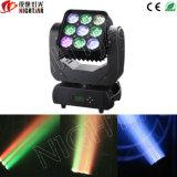 Lumière principale mobile de faisceau de Nj-L9 4in1 RGBW DEL 9*10W