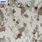 Tela impresa camuflaje del poliester de la armadura de tela cruzada de T/C80/20 21*21 108*58 200GSM para la ropa del Workwear