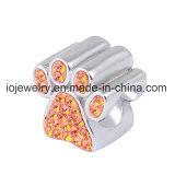 Изготовленный на заказ форма сердца шарика печати лапки