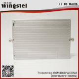 110V-240V 900/1800/2100MHz GSM/DCS/WCDMA Amplificador de señal celular para oficina