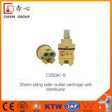 Cartucho de cerâmica normal de 35mm com três anéis O