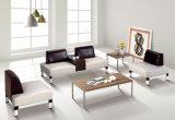 Sofá casero moderno de la sala de estar de la tela de los muebles