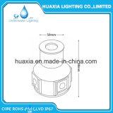 AC100-240V 2700-3000k chauffent IP67 l'appareil d'éclairage enfoncé souterrain blanc de la lumière DEL