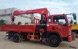 Mini camion de Sinotruk 5t monté avec le prix de la grue 3t