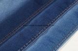 編まれた綿のPolyster Tcの伸張のデニムファブリックを酸性染料で色落ちさせなさい