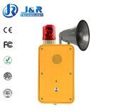 Anto-Dial túnel Teléfono, Teléfono inalámbrico resistente a la intemperie, ferroviario, Teléfono de Emergencia