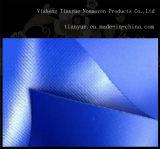 Geteerde zeildoek het met grote trekspanning van de Polyester van pvc van de Sterkte, Geteerd zeildoek en het Blad van het Canvas voor de Dekking van de Vrachtwagen