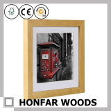 Festes Holz-Kiefernholz-Abbildung-Foto-Rahmen für Hauptdekoration
