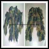 3D Hunting Ghillie Suit Fire Proof Anti roupa de camuflagem infravermelha