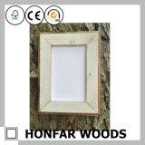 Frame rústico da foto do retrato da madeira contínua para a arte da parede