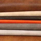 Cuir de marbrure de PVC d'unité centrale de Faux de configuration pour le sac à main de chaussure