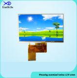 550CD/M2 pantalla de la pulgada TFT LCD del brillo 5.0 con el panel de tacto resistente