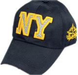 Gorra de béisbol caliente amarilla de la venta (JRE135)