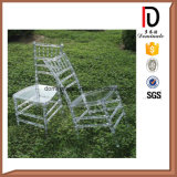 Cadeira Transparente de Resina de Cristal Metel Tiffany Chiavari Chair (BR-RC005)