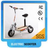 Scooter électrique Scooter à mobilité réduite de 12 pouces à deux roues avec panier