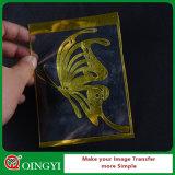 Precio de la fábrica de Qingyi el mejores y calidad Niza de la película metálica del traspaso térmico para la camiseta
