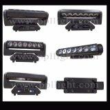 Rotación infinita 7PCS * luz de la barra de la viga de 15W LED