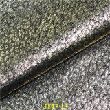 Bon cuir matériel synthétique de haut de chaussure d'unité centrale de stabilité de couleur