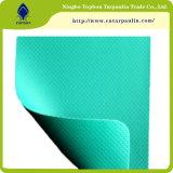 precio de fábrica de tejidos recubiertos con PVC toldo para camión cubrir tb096