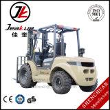 Nuevo diseño 3.5T Jeakue Carretilla elevadora Diesel