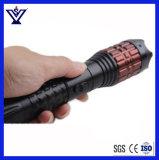 Choque eléctrico X5 de alumínio Stun injetores com lanterna elétrica (SYSG-895)