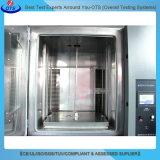 Equipamento de laboratório Câmara de teste de choque térmico de temperatura quente e fria