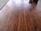 Handscraped Prefinished Pisos de madera de acacia (pisos de madera)