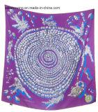 Gedruckter Silk quadratischer Schal 90 * 90cm für Frauen