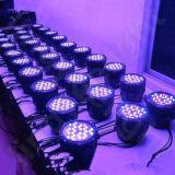 La fase 54*3W RGBW IP65 del DJ impermeabilizza l'indicatore luminoso di PARITÀ 64 del LED