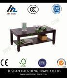 Hzct115 커피용 탁자 호두 금속 발