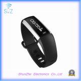 Wristband astuto Android del braccialetto della fascia di m2 del telefono mobile dell'IOS con l'inseguitore di forma fisica di attività del video di frequenza cardiaca